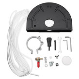 Angle Grinder Cutting Machine Conversion Tool Holder Metal Safety Shield Guard Kit