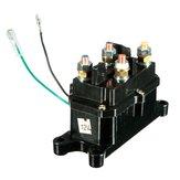 Interruptor de guincho roqueiro universal 12v solenóide relé contator para ATV UTV preto
