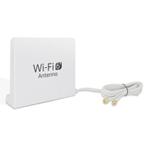 6dBi High Gain WiFi6 Antenna Dual Band 2.4G 5G WiFi RPSMA Male Connector Antenna Magnetic Base 1.5m Cable
