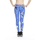 KadınPlusEbatİnceHızlıKuru Yazdır Streched Gym Koşu Yedinci Yoga Pantolon