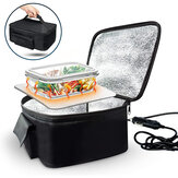 12V Car Lunch Heating Bag Electricity Food Thermal Insulation Bags Bento Warmer
