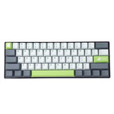 MechZone 108 Keys Lime Keycap Set OEM Profile PBT Keycaps for 61/68/87/104/108 Keys Mechanical Keyboards Comes With 4 Replacement Keycaps