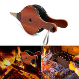 Outdoor Wood Fireplace Hand Barbecue BBQ Air Fire Blower Cooking Stove Bellows Camping Picnic