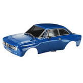 Killerbody 48323 1/10 Finished RC Car Body Shell for Alfa Romeo 2000 GTAm Blue Printed