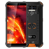 OUKITEL WP5 Pro Global Version 5,5 pulgadas IP68 / IP69K Impermeable 8000mAh Android 10 13MP Triple trasero Cámara 4GB 64GB MT6762D 4G Smartphone