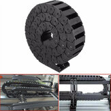 15mm x 30mm Nylon Towline Drag Chain Wire Carrier Engraving Machine Accessory