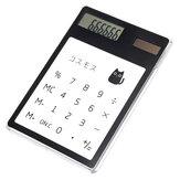 1 Peça Handheld Transparente Calculadora Científica Calculadora de Bolso Bonito Calculadoras Solares Escola