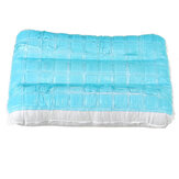 42x28cm Gel Pillow Orthopaedic Pad Head Neck Back Firm Support for Summer Home Office