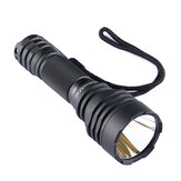Convoy C8+ Black 7135*8 XPL HI 1100LM LED Tactical Flashlight Memory Function