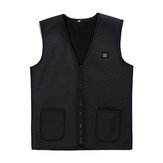 Women Intelligent Winter Electric Heating Waistcoat USB Sleeveless Vest Temperature Control