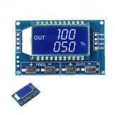 3pcs 1Hz-150Khz 3.3V-30V Signal Generator PWM Pulse Frequency Duty Cycle Adjustable Module LCD Display Board
