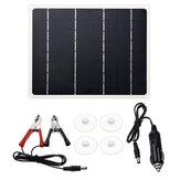 10W Portable Solar Power Panel Monocrystalline Silicon Solar Bank for Solar Energy Power Charger Kit