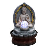 Carved Resin B uddha Running Water Statue Fountain Feature Outdoor Decorations