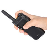 KALOAD V77 Walkie Talkie Two Way Radio UHF 400-470 MHz 16 Channels 2W 1500mAh For Hotel Hunting