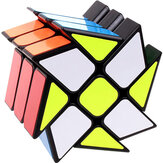 3x3x3 Windmill Magic Cube Speed Twist Cube Strange Shape Puzzle Cube Decompression Kids Learning Educational Toy Gift