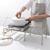 Multifunctionele intrekbare plank keuken ijzer opbergrek voor kasten Servies werkbladen