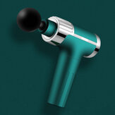30 Speeds LCD Electric Percussion Massager 2000mAh Rechargeable Muscle Vibrating Therapy Massager +4 Heads