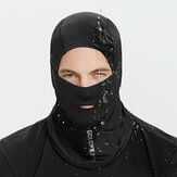 Men Plus Velvet Thick Keep Warm Windproof Outdoor Riding Neck Face Protection Turban Mask