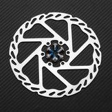 RAMBOMILR5160mm/140mmAleación de Aluminio Bicicleta Ciclismo Disco de Freno Mecánico Frenado Con Tornillos MTB