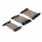 Geekcreit® 3 IN 1 120pcs 10cm Male To Female Female To Female Male To Male Jumper Cable Dupont Wire For Arduino