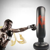 KALOAD 160cm Inflatable Boxing Pillar Adult Kids Tumbler Punching Bag Thickened Vertical Fitness Exercise Column