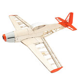 The New Eight-generation P51 Mustang 1000mm  Wingspan Light Balsa Wood Model Fixed-wing Fighter RC Airplane KIT
