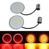 1157 LED Inserção do sinal de mudança para Harley-Davidson para Dyna para Softail para Sportster Road Glid