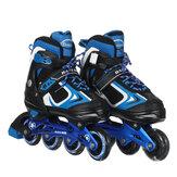 Pattini in linea per bambini Pattini in linea regolabili per bambini Pattini da skate per adolescenti Pattini a rotelle per ragazze