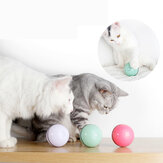 Cat Toy USB Cat Laser Toy Pet Supplies LED Flash Rolling Ball Cat Toy Bola brilhante para Pet Cat Toy