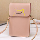 Women 6.3 Inch Touch Screen Crossbody Bag Phone Bag Shoulder Bag