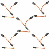 5PCS Amass 15cm Y Servo Cable Lead Splitter For JR Spektrum HITEC