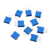 10pcs 3296W 5K ohm Trimpot Trimmer Potentiometer