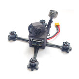 17g URUAV FORCE HD3 118mm 3 بوصة مسواك FPV Racing Frame Kit w / Nylon SLS مطبوعة كابوني متوافقة DJI Caddx Nebula Vista
