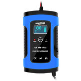 12V 6A Blue Pulse Repair LCD Battery Charger For Car Motorcycle Lead Acid Battery Agm Gel Wet