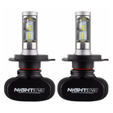 NIGHTEYE H4 H7 H11 9005 9006 25W 4000LM LED Phare Ampoule de Limière Avant