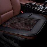 12V Chłodzenie poduszki do siedzenia samochodu Wentylacja Oddychające otwory przepływu powietrza PU Leather + Mesh