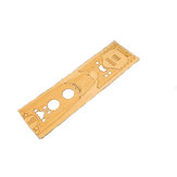 Wooden Deck For Tamiya 78030 1: 350 Scale Japanese Battleship Yamato Model Vervanging Accessoires