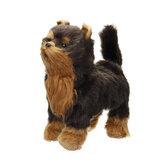 Marche électrique chanter Wag Simulation réaliste chien réaliste Animal poupées jouet pour la décoration de la maison Collection enfants cadeau