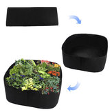 Non Woven Fabric Raised Garden Bed Durable Grow Bags Herb Flower Vegetable Planter Bed
