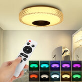 72W RGB Music LED Plafonnier intelligent Dimmable Lamp Bluetooth APP Control