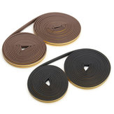20 Meter P-type EPDM Weather Window Door Strip Sello de excluidor de borrador autoadhesivo
