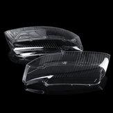 Remplacement de paire de couvercle de lentille de lampe frontale en plastique pour Audi A4 B6 2002-2005