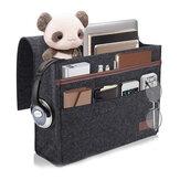 12.6x3.9x9.8inch Sofa Felt Storage Bag Bedside Hanging Organizer Bag Couch Armrest Pocket Tote Holder for Home Travel