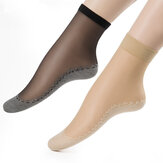 Frauen Velvet Cotton Bottom Short Sock Anti-Rutsch Füße Massage Komfortable Breathable Socken
