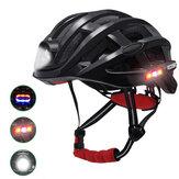 ROCKBROSサイクリングヘルメット自転車防水ライトロードMTBバイクUSB充電用Flido D4s
