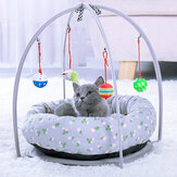 Dog Nest Cat's House Canil removível Cat's House Four Seasons Universal multifuncional Toy Cave Tapetes de almofada para animais de estimação Colchão para gatos