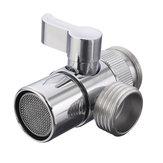 Messingumlenker für Küchen- oder Badwaschbecken Wasserhahn Ersatzteil M22 X M24 Anschluss