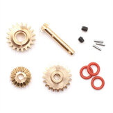 Orlandoo Hunter TA0042 Control Arm Metal Wave Box Gears Kit for OH32P02 1/32 RC Car Parts