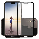 BAKEEY 3D Curved Edge Anti-Explosion Full Cover Tempered Glass Screen Protector for Huawei P20 Lite
