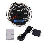 Indicatore del tachimetro da 85 mm GPS con GPS Antenna 0-30 km / h 0-60 km / h 0-120 km / h 0-200 km / h